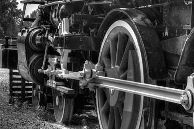 Train Photograph - Iron Horse by Gerald Adams