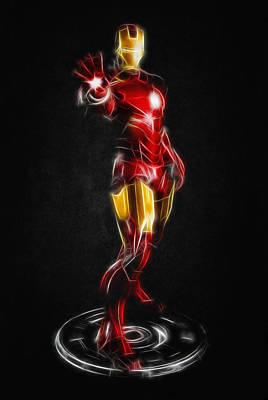 Iron Man Print by - BaluX -