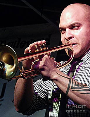 Michael Irvin Photograph - Irvin Mayfield In New Orleans Louisiana by Michael Hoard