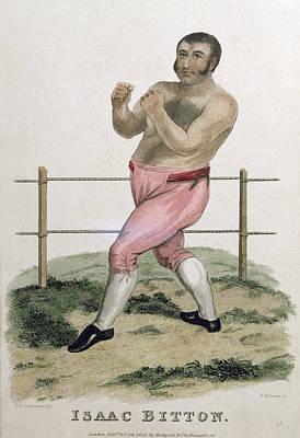 Isaac Bitton, Engraved By P. Roberts Print by Isaac Robert Cruikshank