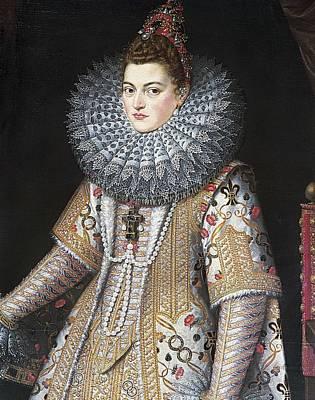 Isabella Clara Eugenia 1566-1633 Print by Everett
