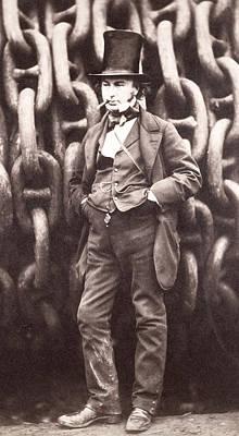 Smoker Photograph - Isambard Kingdom Brunel  by Robert Howlett