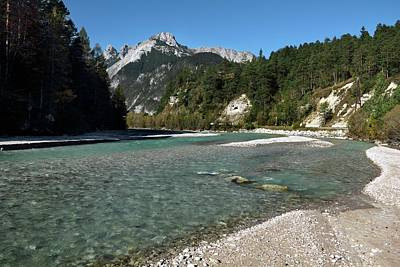 Isar River Print by Martin Rietze