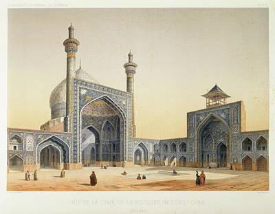 Isfahan Print by British Library