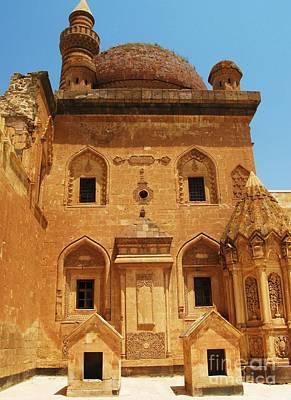 Ishak Pasha Palace Courtyard Print by Cimorene Photography
