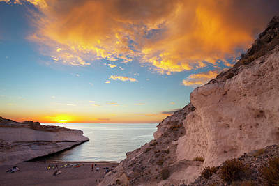 Isla Carmen, Baja, Sea Of Cortez, Mexico Print by Gary Luhm