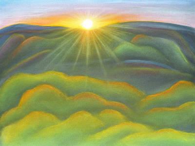Isla Gorge Sunset Print by Judith Chantler