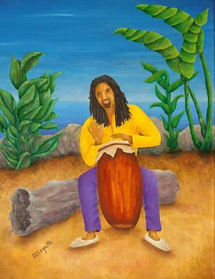 Island Beat Original by Pamela Allegretto
