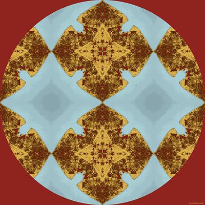 Kauai Digital Art - Island Circle 1 by Kenneth Grzesik