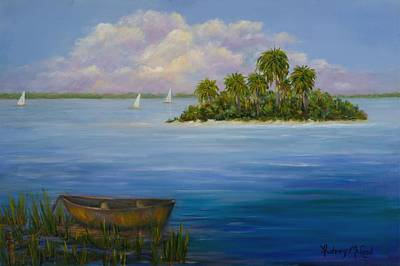 Island In The Bay Original by Audrey McLeod