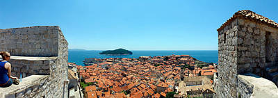 Island In The Sea, Adriatic Sea, Lokrum Print by Panoramic Images