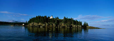 Island In The Sea, Bear Island Print by Panoramic Images