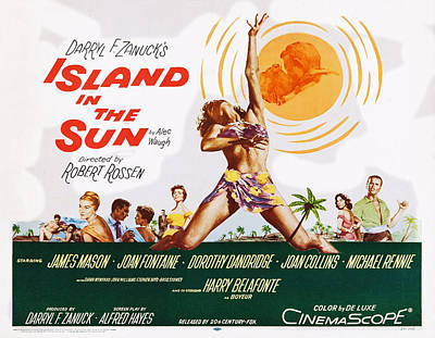 Harry James Photograph - Island In The Sun, L-r Joan Fontaine by Everett