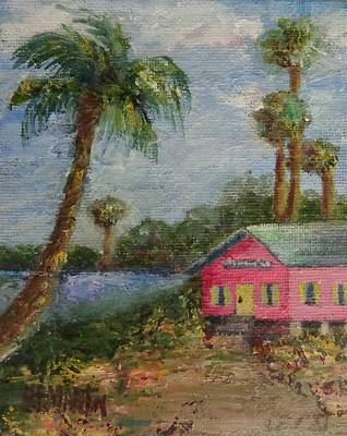 An Island Painting - Island Life by Annie St Martin