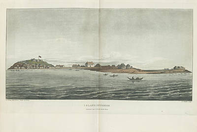 Island Of Goree Print by British Library