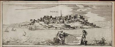 Theodor De Bry Photograph - Island Of Olinda Off The Coast Of Brazil by British Library