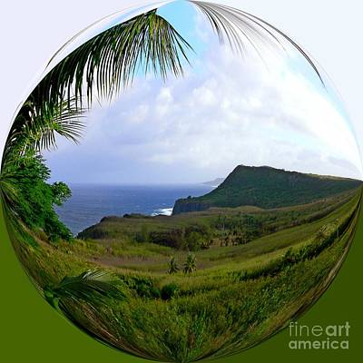 Landscapes Photograph - Island Portraits Coastal Shores Guam by Scott Cameron
