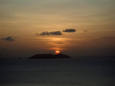 Photograph - Island Sunset Caribbean Photograph by
