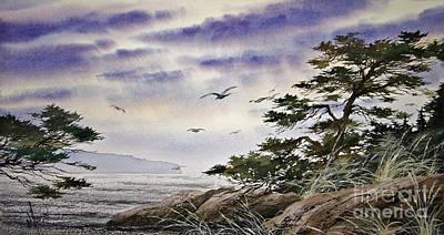 Island Sunset Print by James Williamson