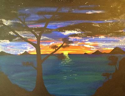 Island View Print by Scott Wilmot