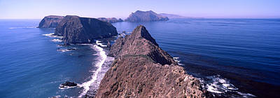 Islands In The Ocean, Anacapa Island Print by Panoramic Images