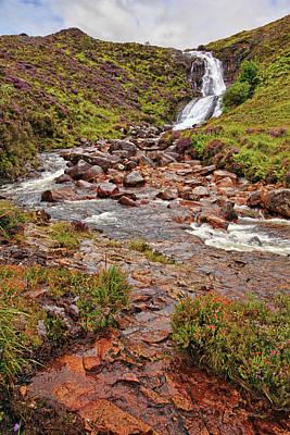 Flower Photograph - Isle Of Skye Waterfall by Marcia Colelli