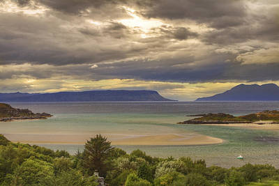 Sailboat Photograph - Isles Of Eigg And Rum by Jason Politte