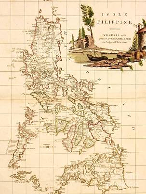 Isole  Filippine Print by Pg Reproductions
