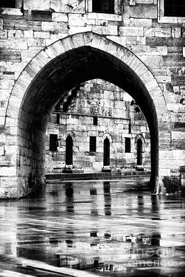 Stone Buildings Photograph - Istanbul Arch by John Rizzuto