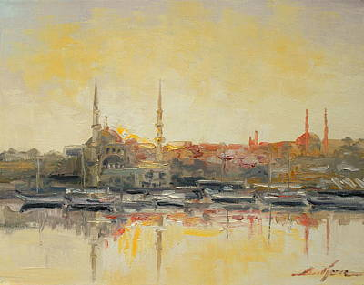 Istanbul- Hagia Sophia Print by Luke Karcz