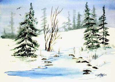 It Snowed Print by Don Hand