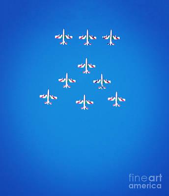 Italian Aerobatics Team Print by Stefano Senise