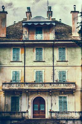 Italian Country House Facade Print by Silvia Ganora