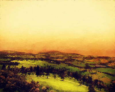Italian Countryside Original by Lonnie Christopher