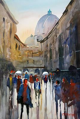 Rome Painting - Italian Impressions 5 by Ryan Radke