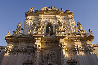 Italy, Apulia, Lecce, San Giovanni Print by Tips Images