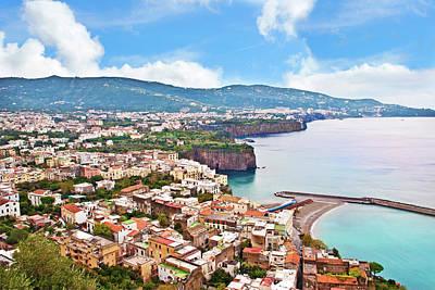Italy, Campania, Mediterranean Sea Print by Miva Stock