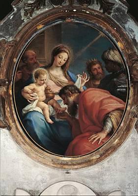 Italy, Lazio, Rome, Santa Maria In Via Print by Everett