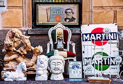 Mess Photograph - Italy Memorabilia by Luca Lorenzelli