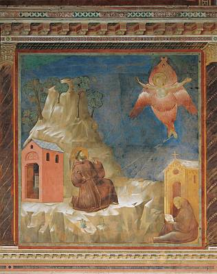 Religious Angel Art Photograph - Italy, Umbria, Perugia, Assisi, Upper by Everett
