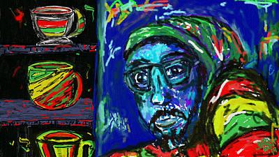 Coffee Digital Art - Mugnificent Life by J Bern Hunt
