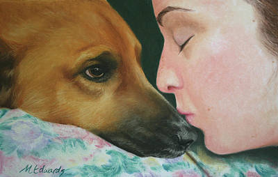 It's Alright Print by Marna Edwards Flavell