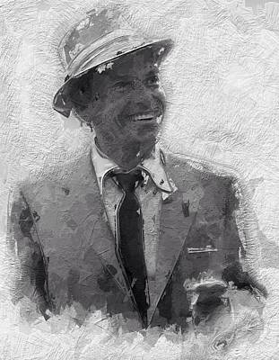 Frank Sinatra Digital Art - Its Up To You by Stefan Kuhn