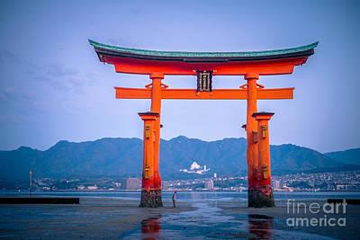 Miyajima Photograph - Itsukushima Shrine by Sabino Parente