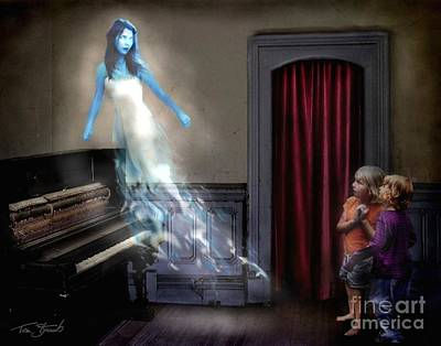 Paranormal Digital Art - Ivory Ghost by Tom Straub