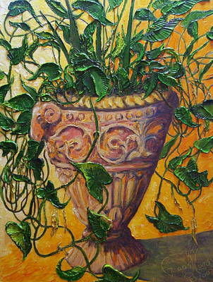 Ivy And Other Greens Print by Paris Wyatt Llanso