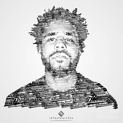 Cole Digital Art - J. Cole X Dreamville X Imthefuturetho by Joel Escamilla