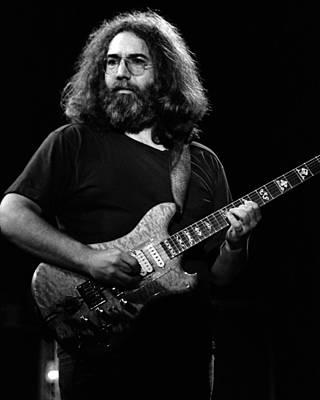 Jerry Garcia Band Photograph - J G B #25 by Ben Upham