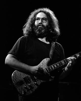 Jerry Garcia Band Photograph - J G B #31 by Ben Upham