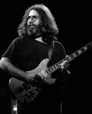 Jerry Garcia Band Photograph - J G B #35 by Ben Upham